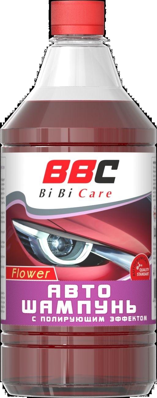 Автошампунь Lavr BiBiCare цветочный 1 л Ln4124