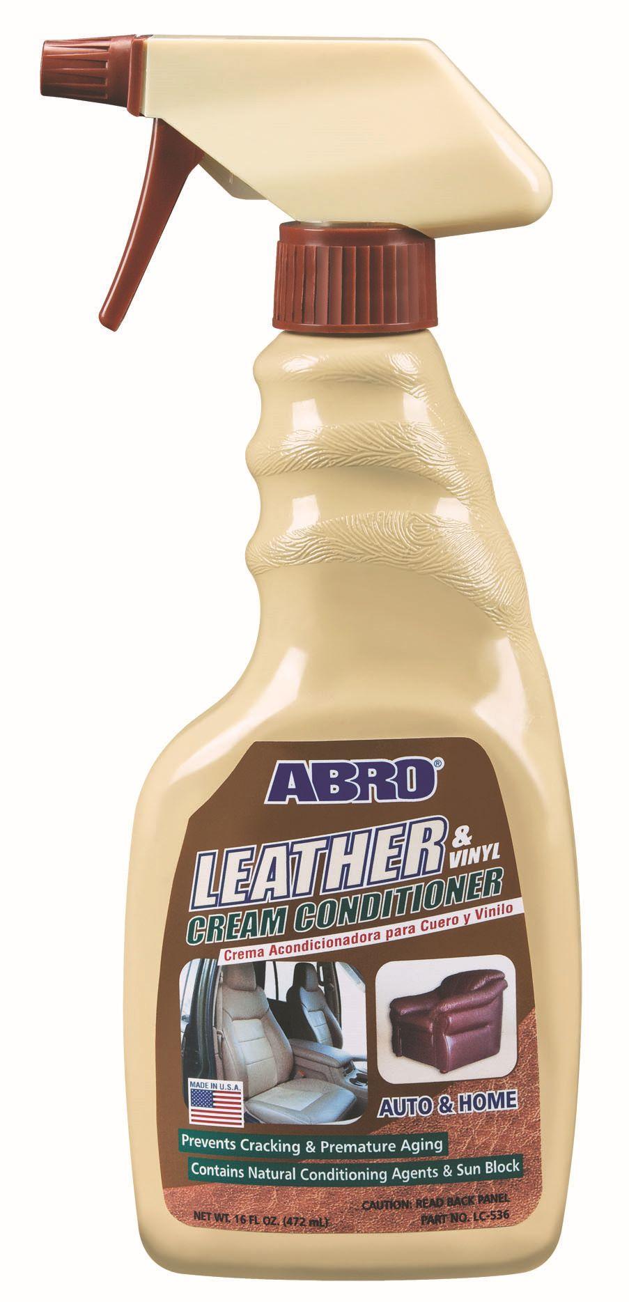 Кондиционер для кожи и винила Abro спрей 472 мл LC536