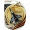 Ароматизатор на зеркало 3D Autostandart самолет Миг29 черный кофе 105710