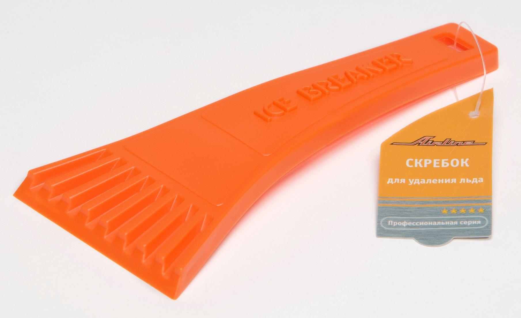 Скребок для льда Airline 18 см пластиковый ручка AB-P-02