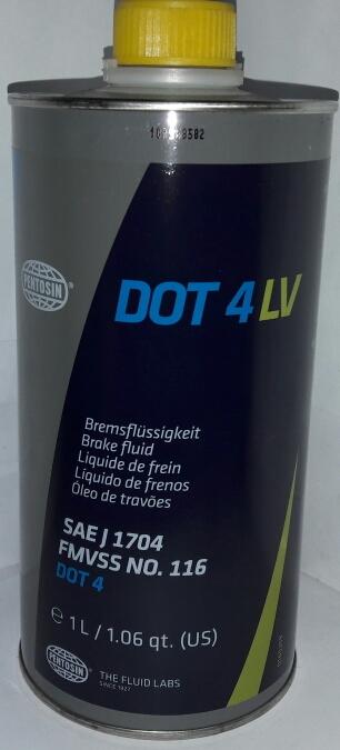 Жидкость тормозная Pentosin 1224116 Dot-4 LV 1 л